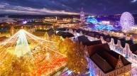 1300만개 LED, 세계 최대 일루미네이션 축제 개막