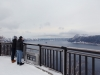 겨울 풍경 백미의 홋카이도 마슈호수